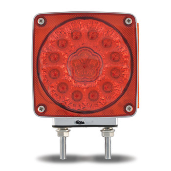Super Diode Double Face Double Post Square LED - (38 Diodes)