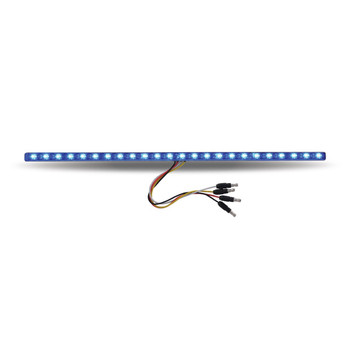 "17"" Dual Revolution Amber/Blue LED Strip"