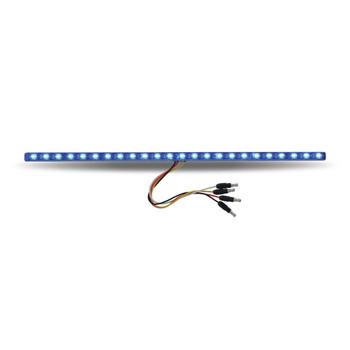 "17"" Dual Revolution Red/Blue LED Strip"