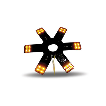 """8"""" Star Amber LED for 15"""" Donaldson & Vortox Air Breather"""