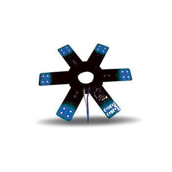 """8"""" Star Blue LED for 15"""" Donald. & Vortox Air Breather"""
