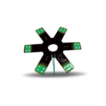 """8"""" Star Green LED for 15"""" Donaldson & Vortox Air Breather"""