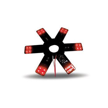 """8"""" Star Red LED for 15"""" Donaldson & Vortox Air Breather"""