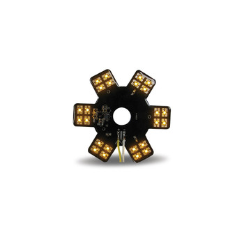 """5"""" Star Amber LED for 13"""" Donaldson Air Breather (24 Diodes)"""