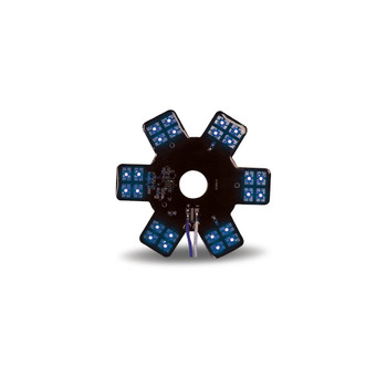"5"" Star Blue LED for 13"" Donaldson Air Breather (24 Diodes)"