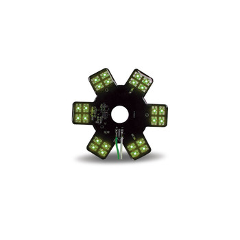 "5"" Star Green LED for 13"" Donaldson Air Breather (24 Diodes)"""