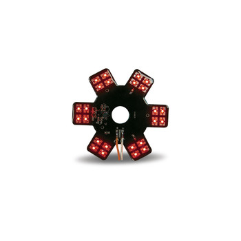 """5"""" Star Red LED for 13"""" Donald. Air Breather (24 Diodes)"""