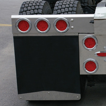 "24"" Bolted Angled Bottom Mud Flap Weight"
