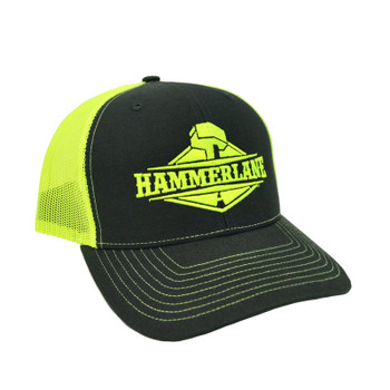 Snapback Neon Yellow Hammerlane Hat