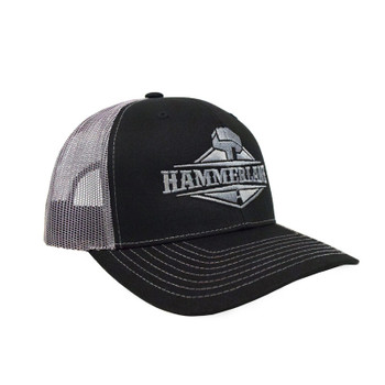 Snapback Neon Charcoal Silver Hammerlane Hat