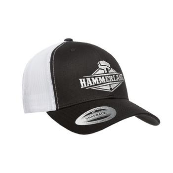 Snapback Black & White Hammerlane Hat