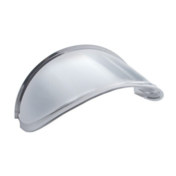 "7"" Round Stainless Extended Headlight Visor"