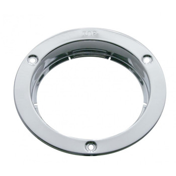 "4"" Stainless Mounting Bezel"