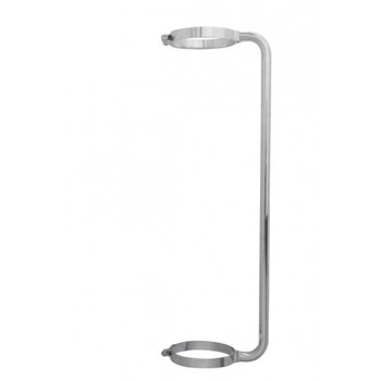"Chrome 34"" Exhaust Grab Handle For 8"" Exhaust"
