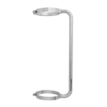 "Stainless Steel 24"" Exhaust Grab Handle For 7"" Exhaust"