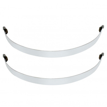 """Stainless Steel 9 3/4"""" Air Tank Straps"""