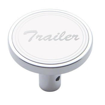 """Trailer"" Long Air Valve Knob - Stainless Plaque"