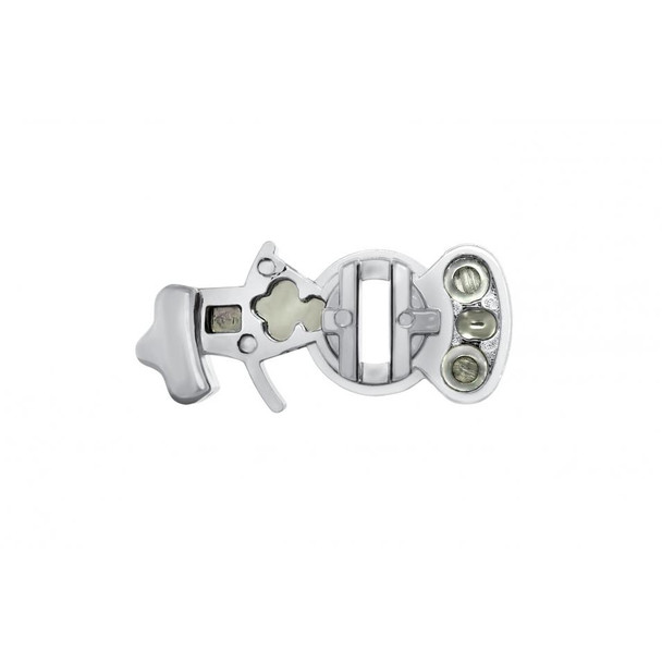 Chrome Splitter Button - For Eaton A-6915
