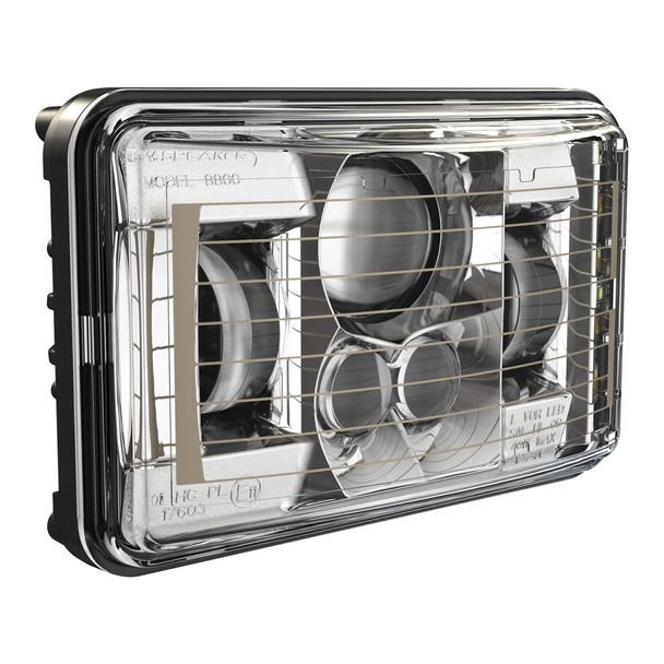 JW Speaker Heated 4x6 Model 8800 Evo 2 - Chrome