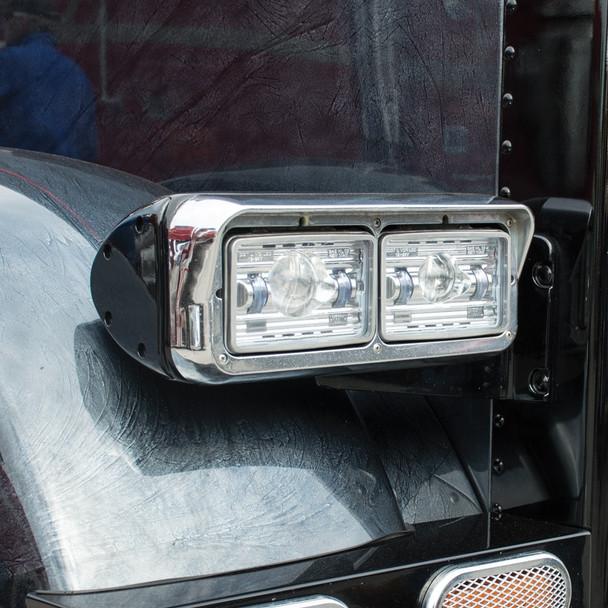 "4"" x 6"" LED Projector Headlight - High Beam"