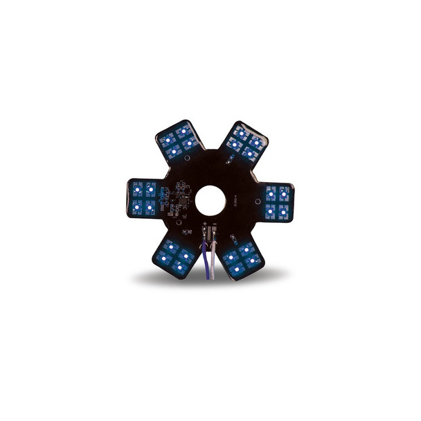 """5"""" Star Blue LED for 13"""" Donaldson Air Breather (24 Diodes)"""
