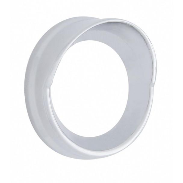 Chrome Small Gauge Cover W/ Visor - Kenworth
