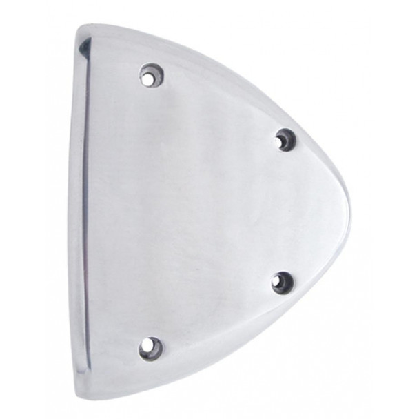 Polished Aluminum Headlight Turn Signal Cover