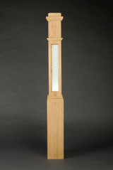 Lighted box newel