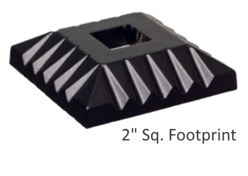 """1/2"""" FLAT Scalloped Shoe (S-6)"""