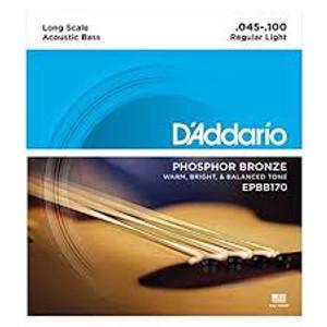 Daddario EPBB170 Phosphor Bronze Regular Light Acoustic Bass (45-100)