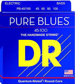 DR PURE BLUES PB-45/100 BASS STRINGS (45-100)