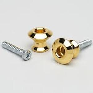 Dunlop Strap Buttons Gold Ap 6582 002