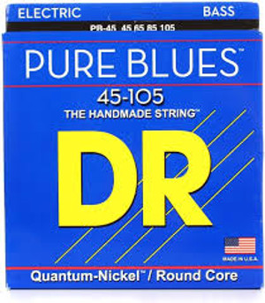 DR PURE BLUES PB-45 BASS STRINGS (45-105)