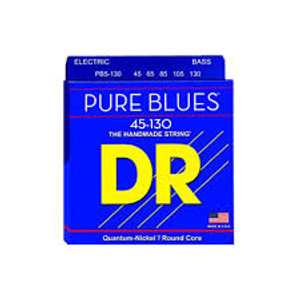 DR PURE BLUES PB5-130 BASS STRINGS (45-130)