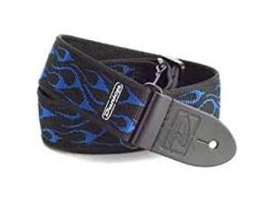 Dunlop Blue Flame Strap