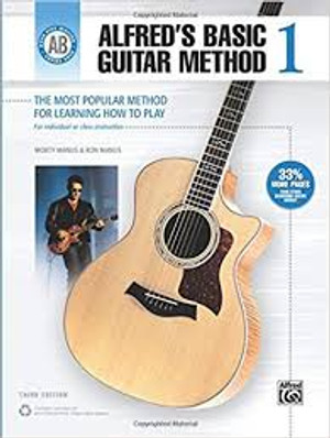 Alfreds Basic Guitar Method #1