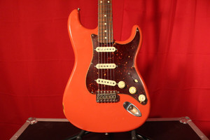 Fender Stratocaster Parts Guitar Fiesta Red (Used)