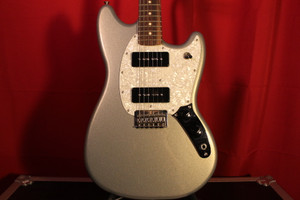 2016 Fender Mustang (MiM) Silver Sparkle (Used)