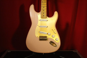 Custom Built Strat Replica (Shell Pink) (Used)