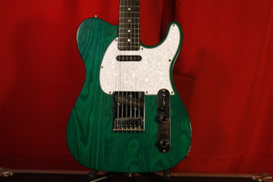 G&L Classic ASAT Transparent Forest Green (Used)