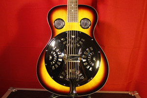 Regal RD40T Vintage Sunburst Resonator