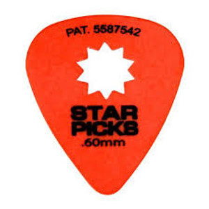 Star Pick .60 Thin/med. Orange