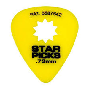 Star Pick .73 Med. Yellow