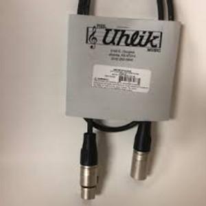Rapco 2FT LO Z Microphone Cable NTK XLRF/XLRM