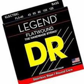 DR FL5-45 LEGEND FLATWOUND 5 STRING BASS SET