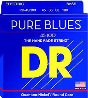 DR PURE BLUES PB-45/100 BASS STRINGS (45-100)
