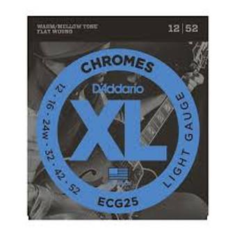 Daddario Chromes ECG25 Light  (12 52)