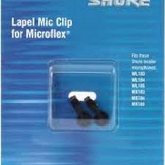 Shure Lapel Mic Clip for Microflex