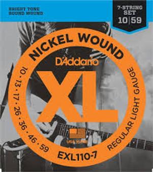Daddario Exl 110 7 String