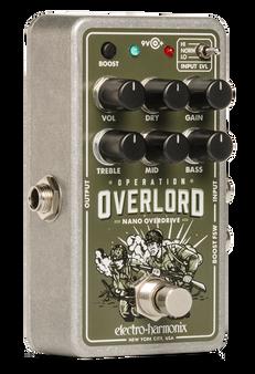 Electro Harmonix Operation Overlord Nano Overdrive